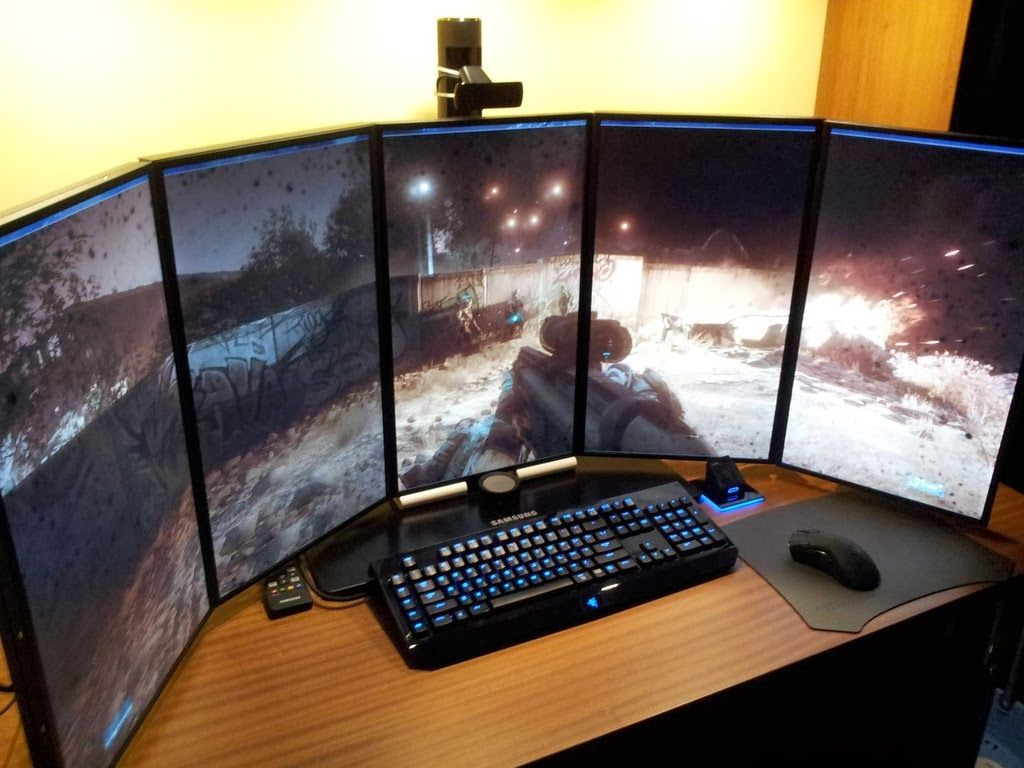 Image of: Best Pc Desk Modern