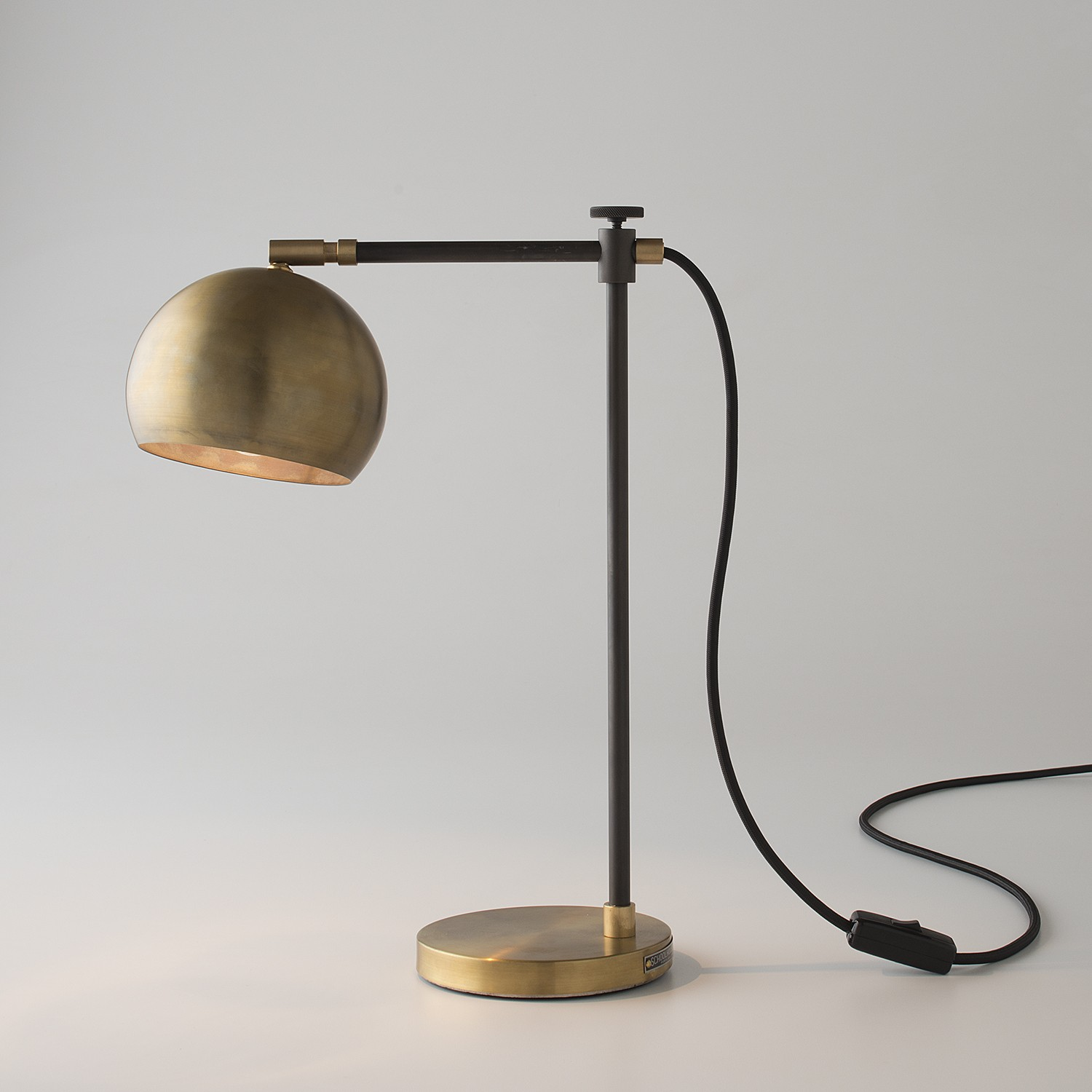 Image of: Brass Desk Lamp Models