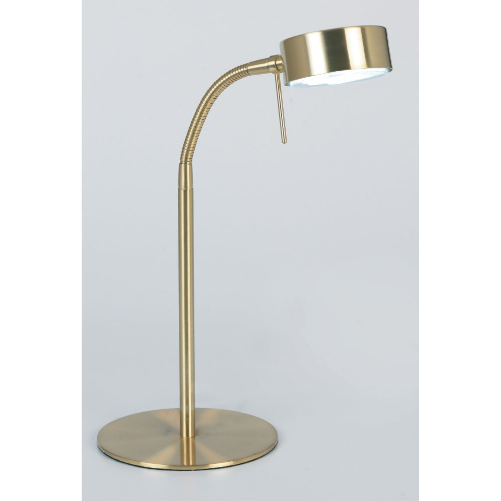 Image of: Brass Desk Lamp Stand