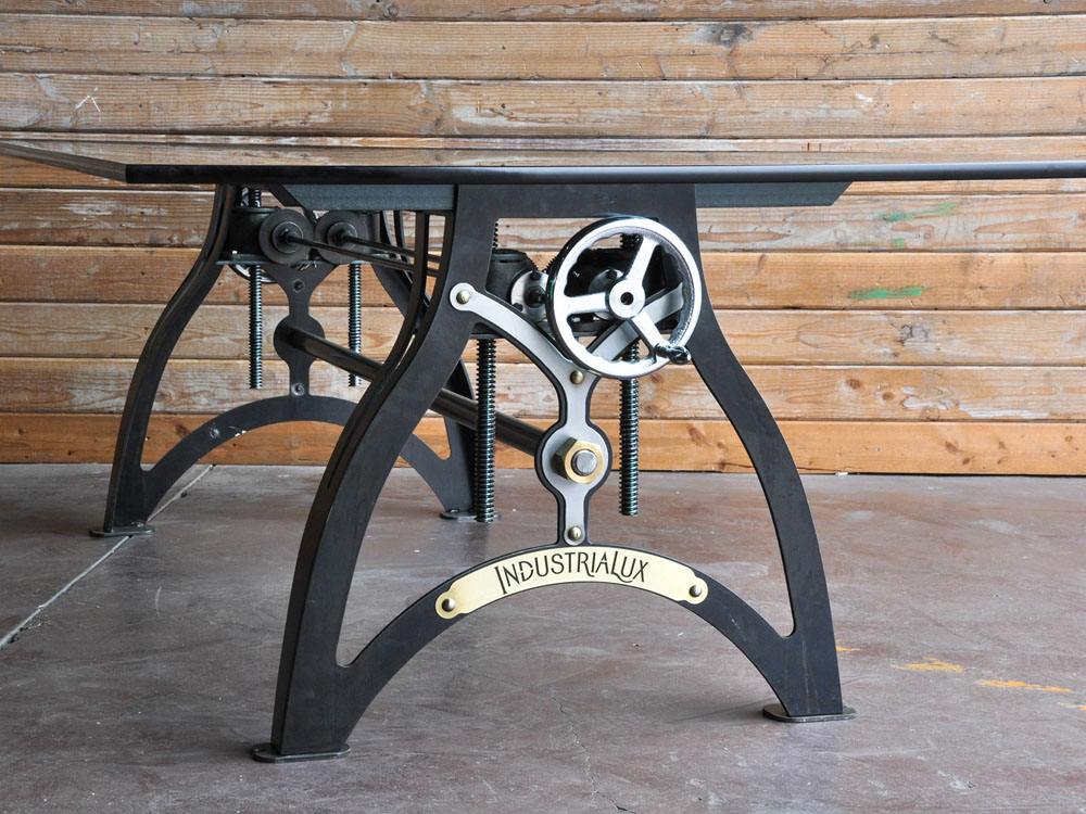 Image of: Build a Crank Desk