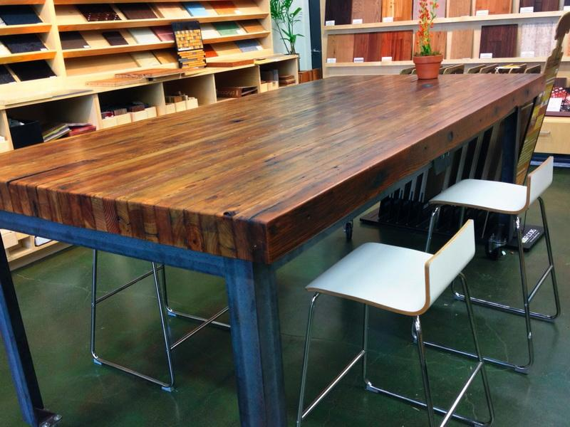 Butcher Block Desk Design Ideas
