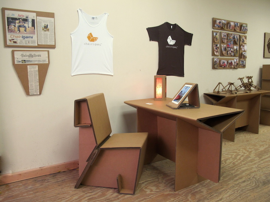 Image of: Cardboard Standing Desk Dorm