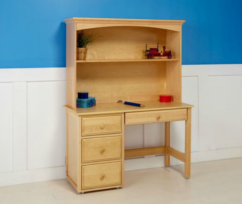 Image of: Childs Desk With Hutch