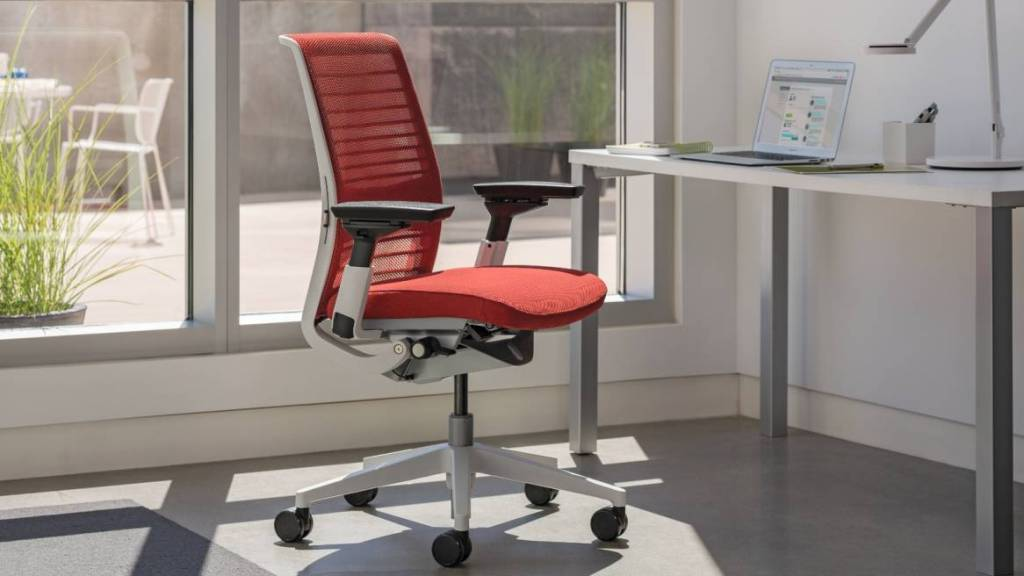 Image of: Clear Plastic Desk Chair for Office