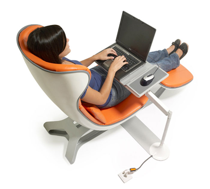 Image of: Comfortable Desk Chair Elegant