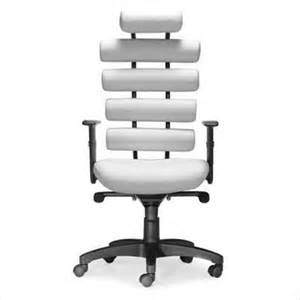 Image of: Comfortable Desk Chair White