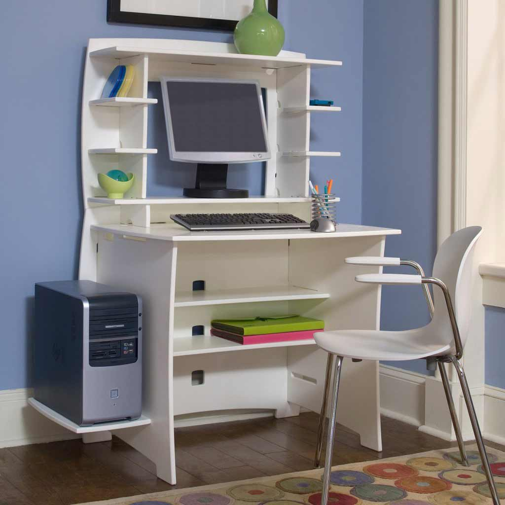 Image of: Compact Computer Desk Home