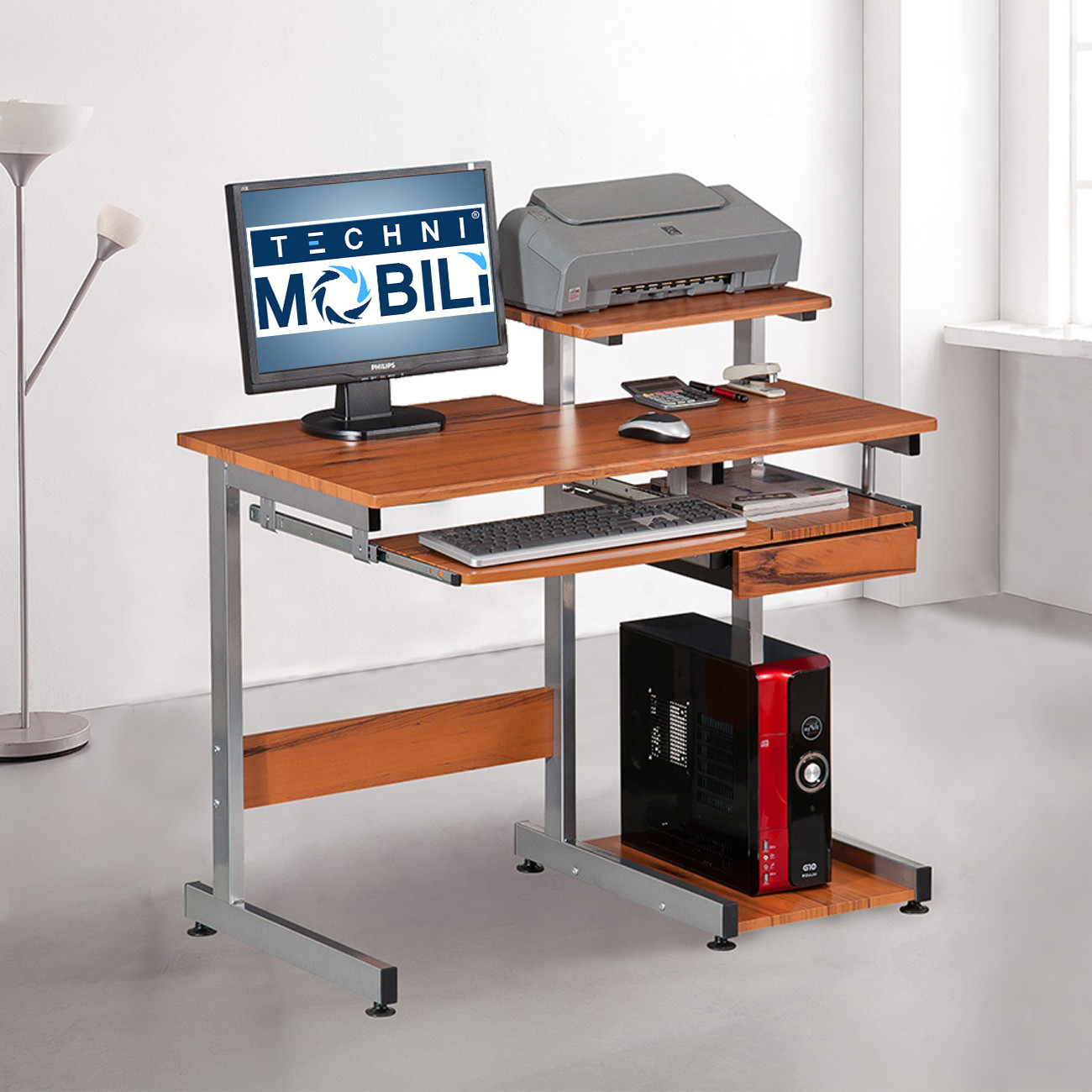 Image of: Compact Computer Desk Models