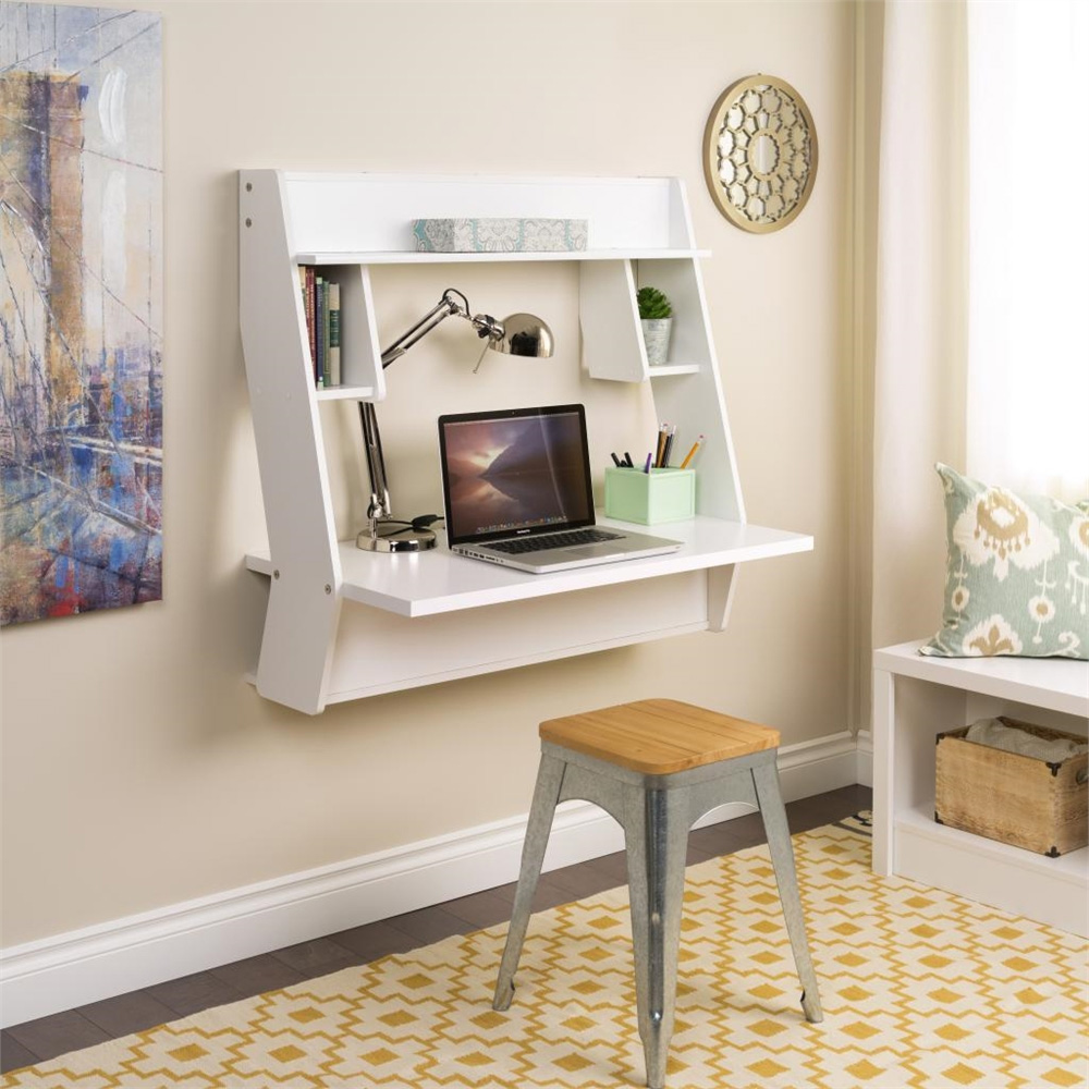Image of: Compact Computer Desk Wall