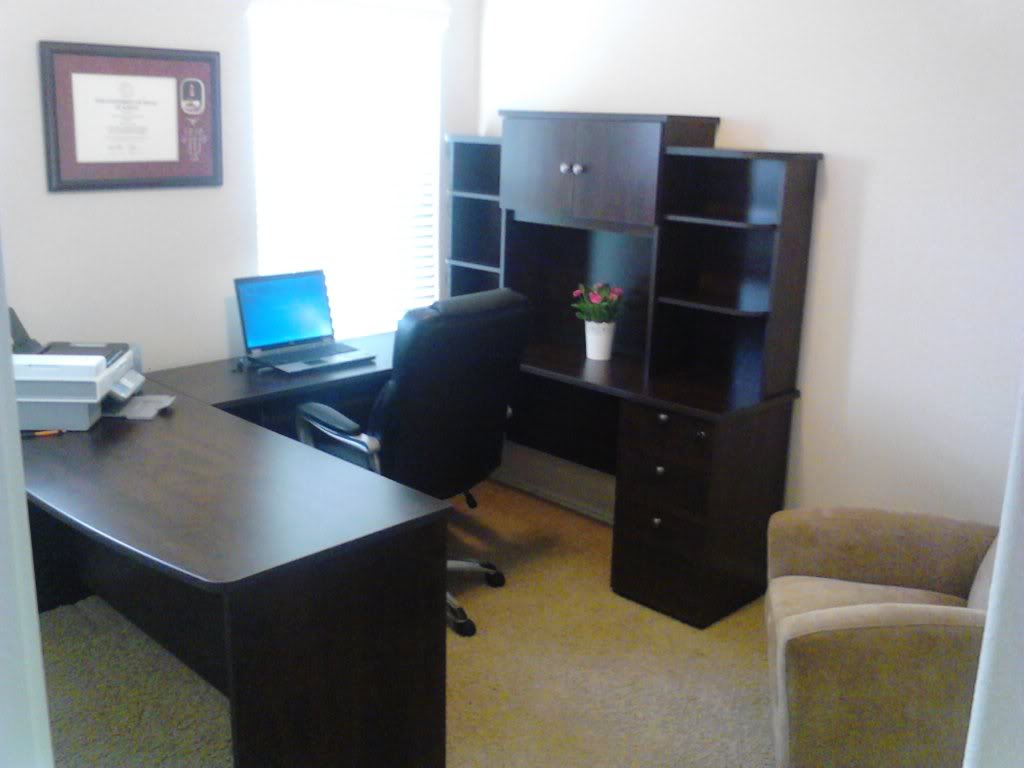 Image of: Computer Desk With Hutch IKEA Interior