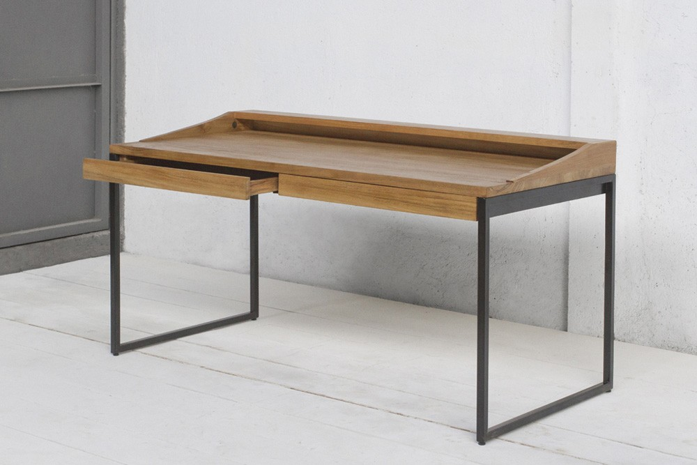 Contemporary Writing Desk With Drawer
