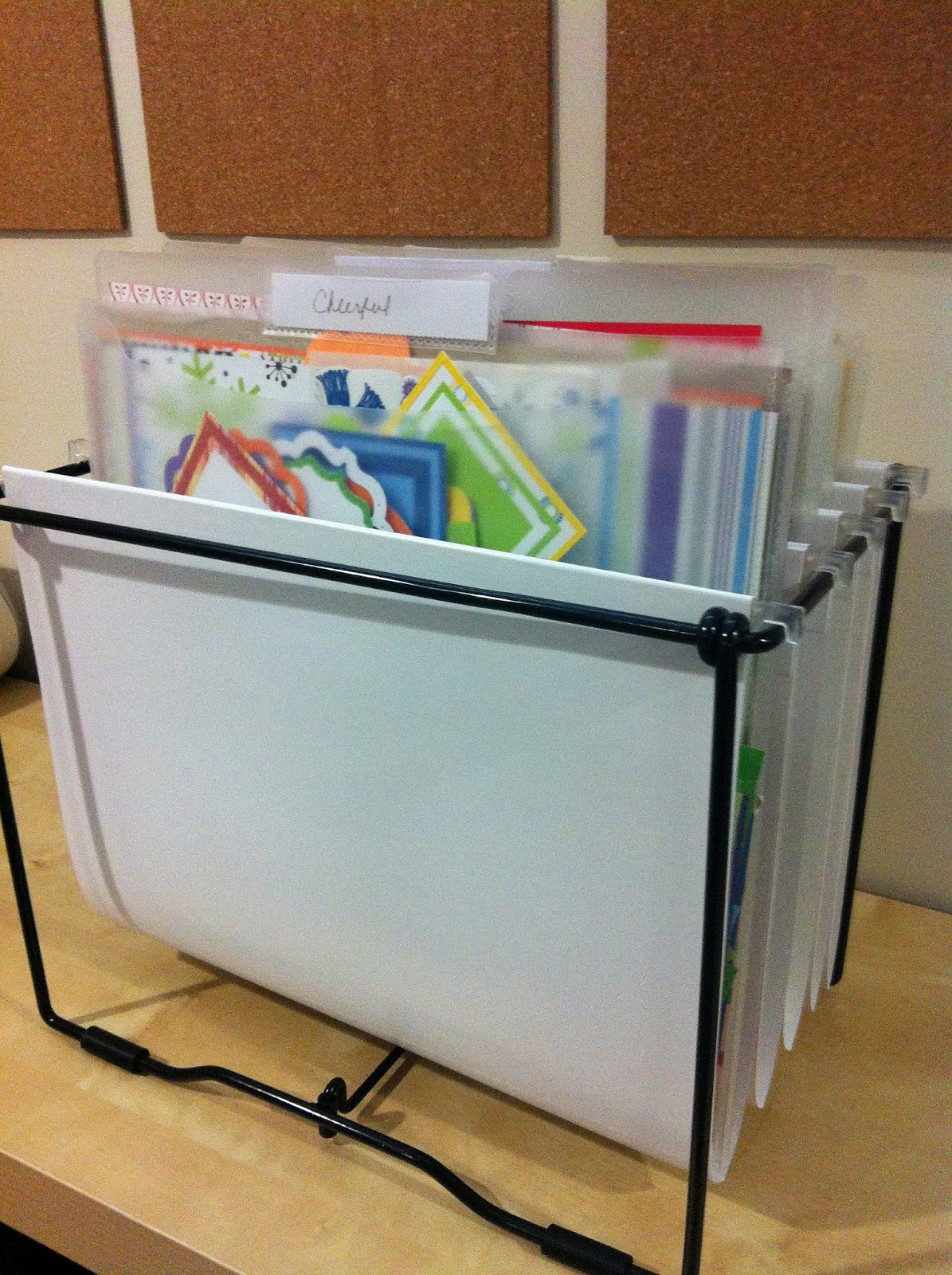 Cool Desk File Organizer