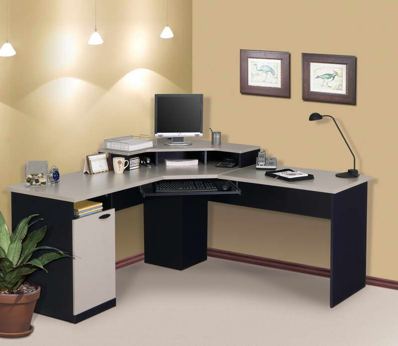 Image of: Corner Computer Desk Ikea Furniture