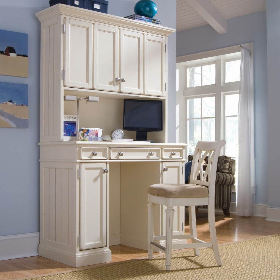 Image of: Desk Hutch Organizer Simple