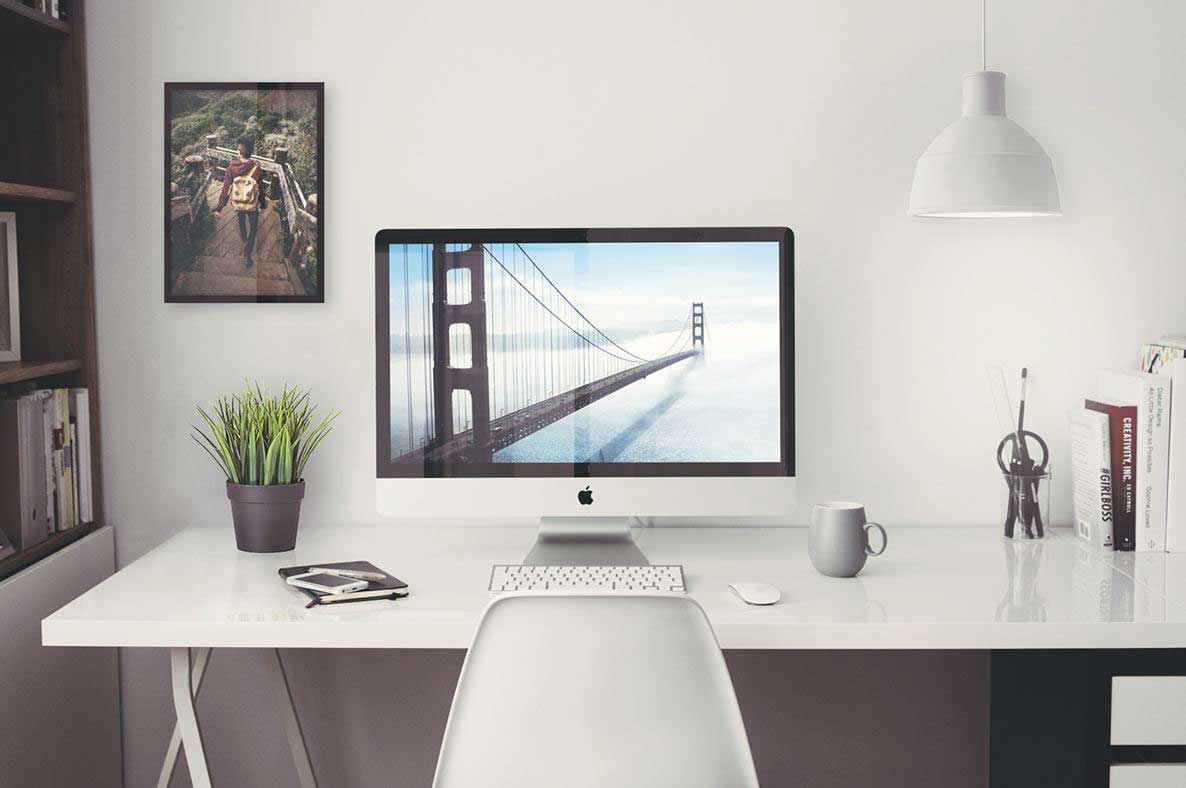 Image of: Desk Mockup Design