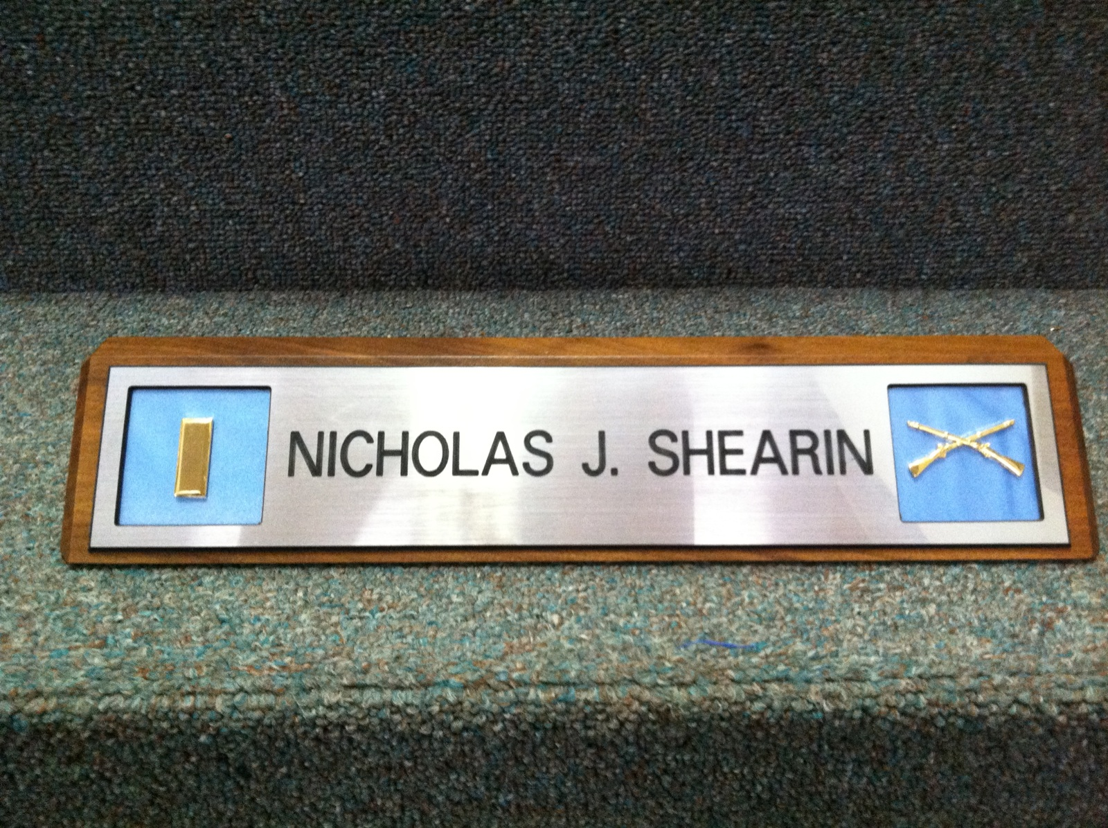 Image of: Desk Name Plate Models