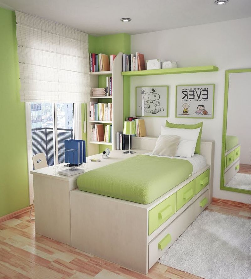 Image of: Desk for Small Bedroom Modern