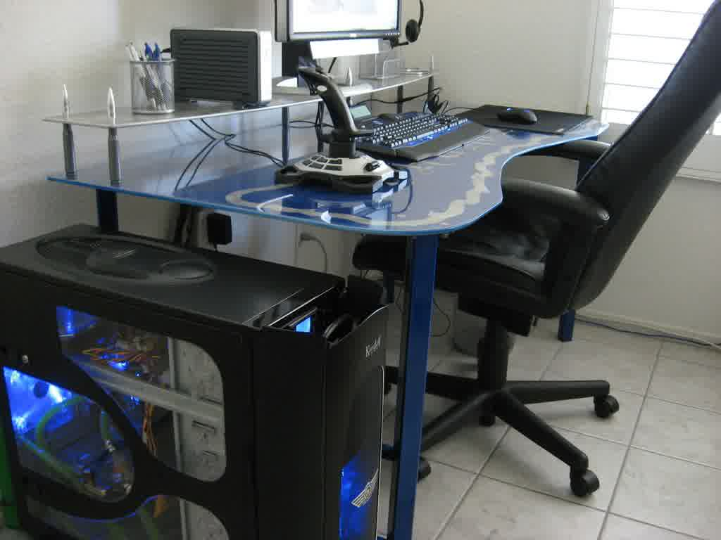 Image of: Good Atlantic Gaming Desk