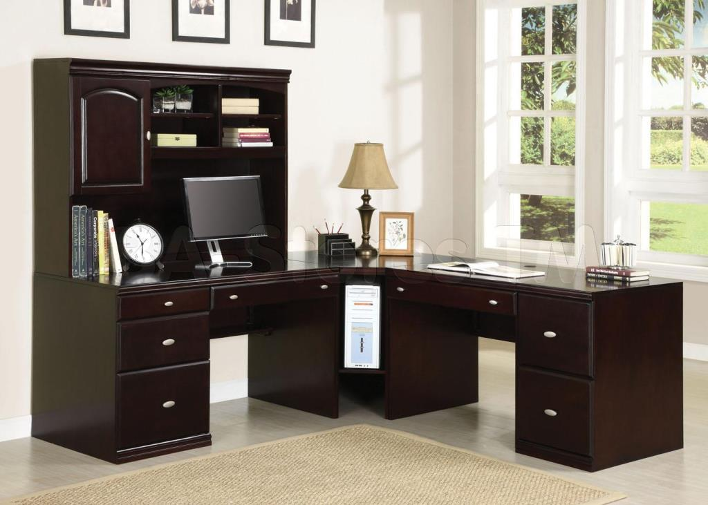 Image of: Great Corner Secretary Desk