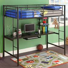 Image of: Ideas Boys Bunk Bed With Desk