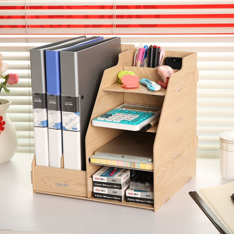 Image of: Modern Desk File Organizer