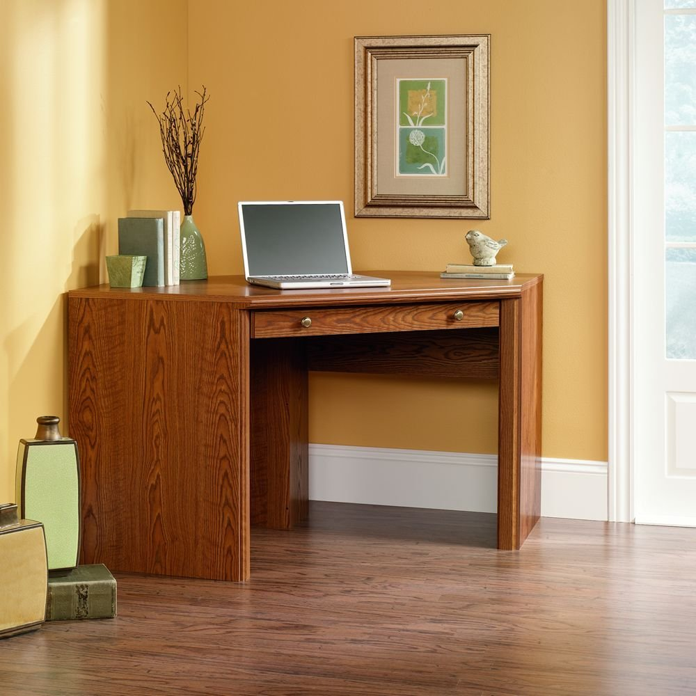 Image of: Perfect Corner Secretary Desk