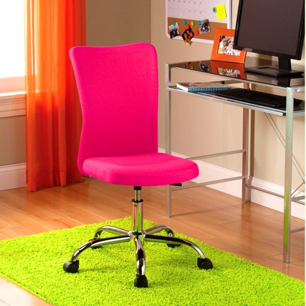 Image of: Pink Desk Chairs for Teens