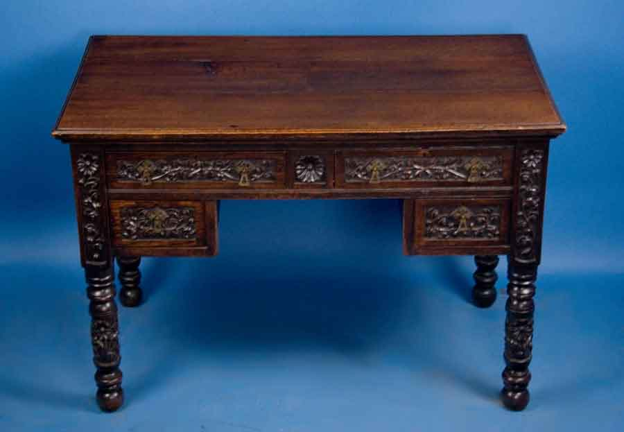 Image of: Restoring Antique Writing Desk