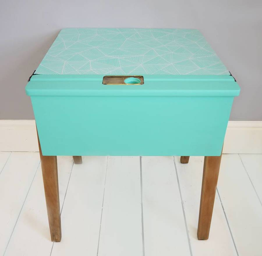 Image of: Retro Childs Desk