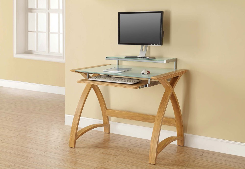 Image of: Small Computer Desk For Small Spaces Design