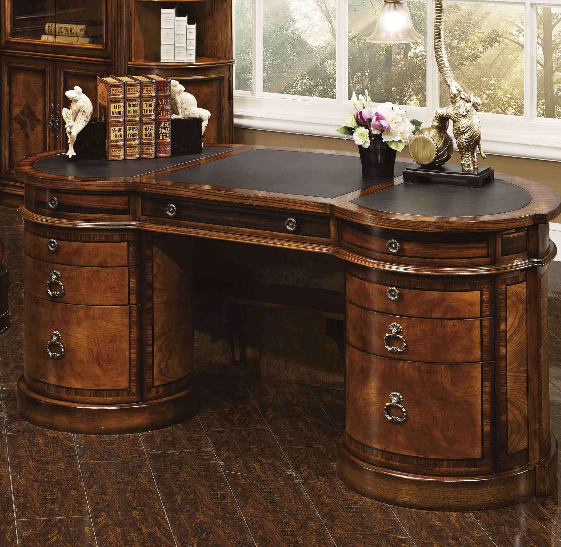 Stylish Antique Executive Desk