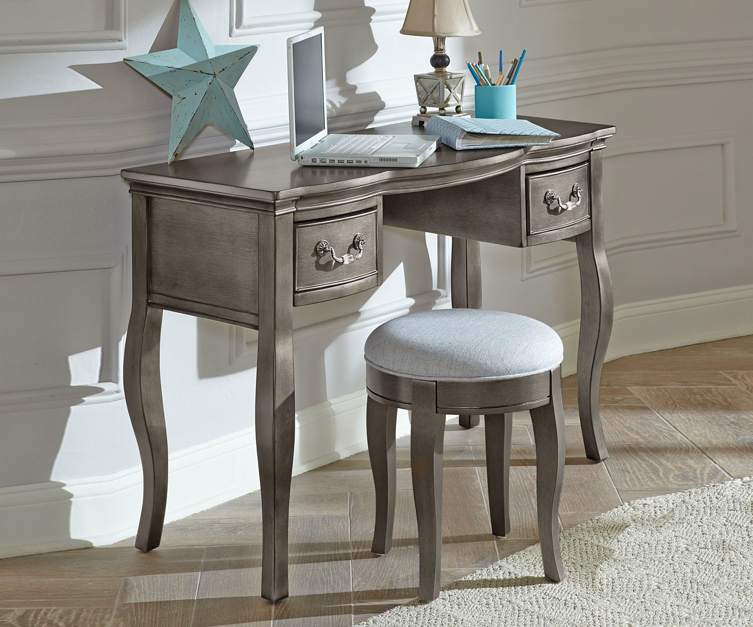 Image of: Stylish Antique Secretary Desk