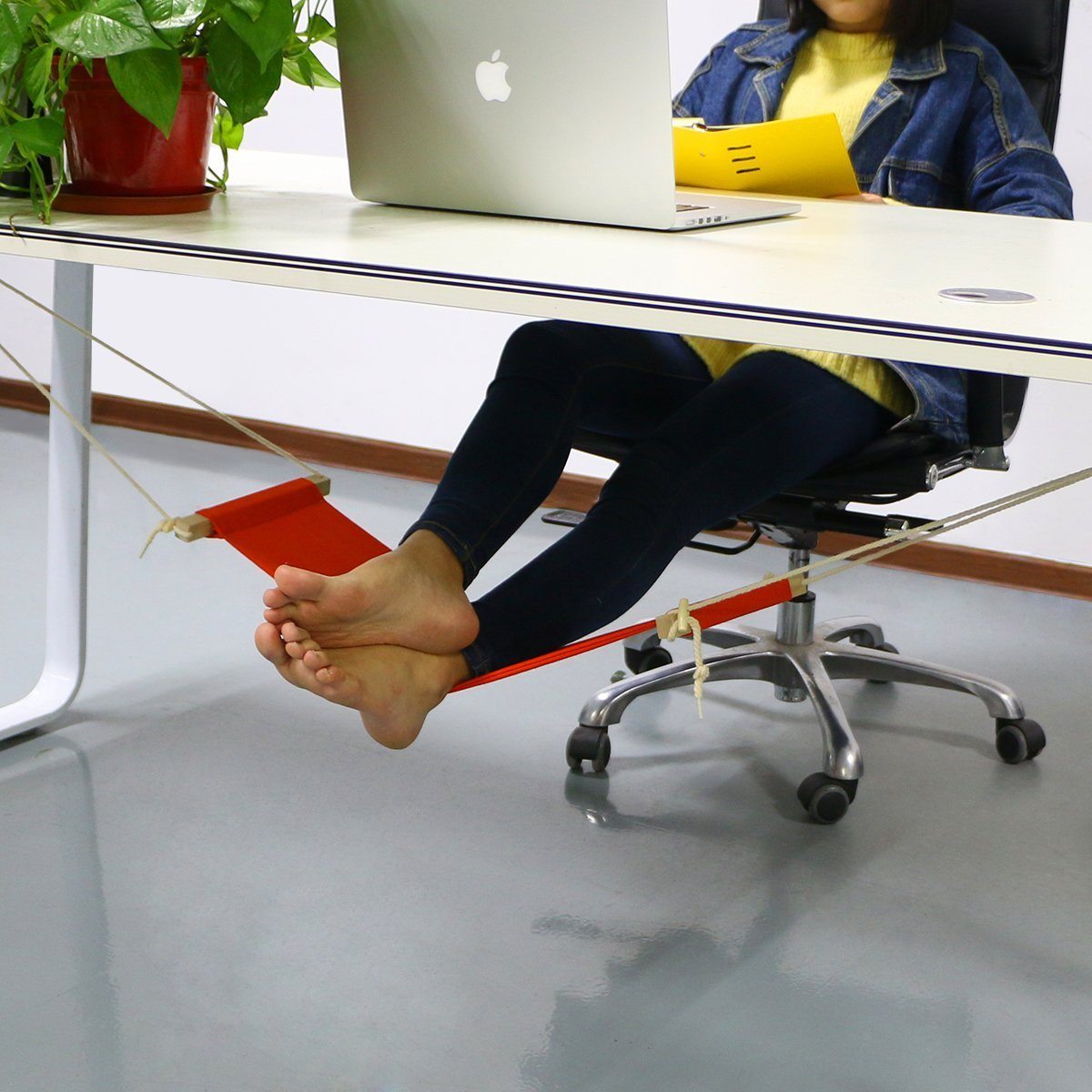Image of: Stylish Desk Foot Rest