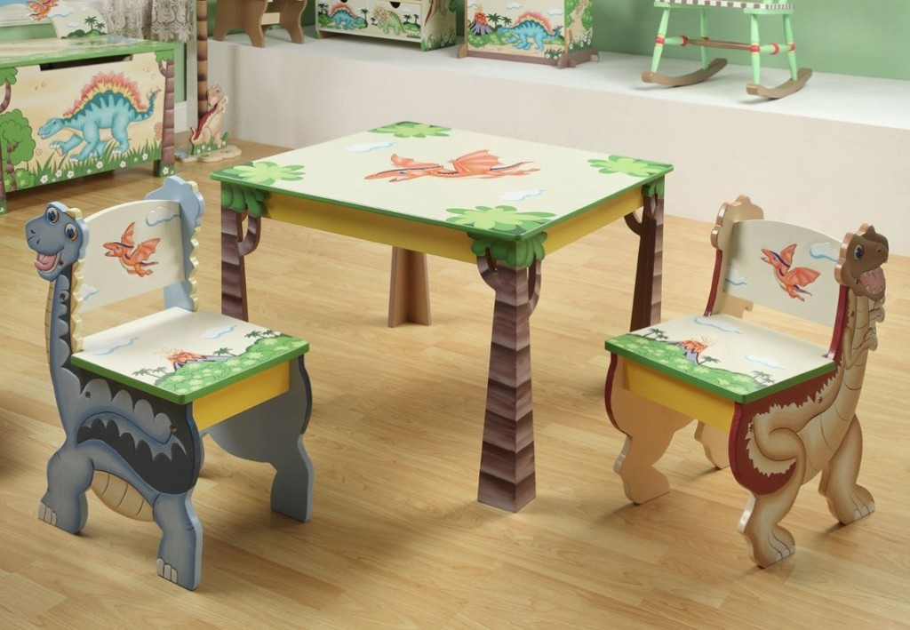 Image of: Wonderful Childrens Desk and Chair Set