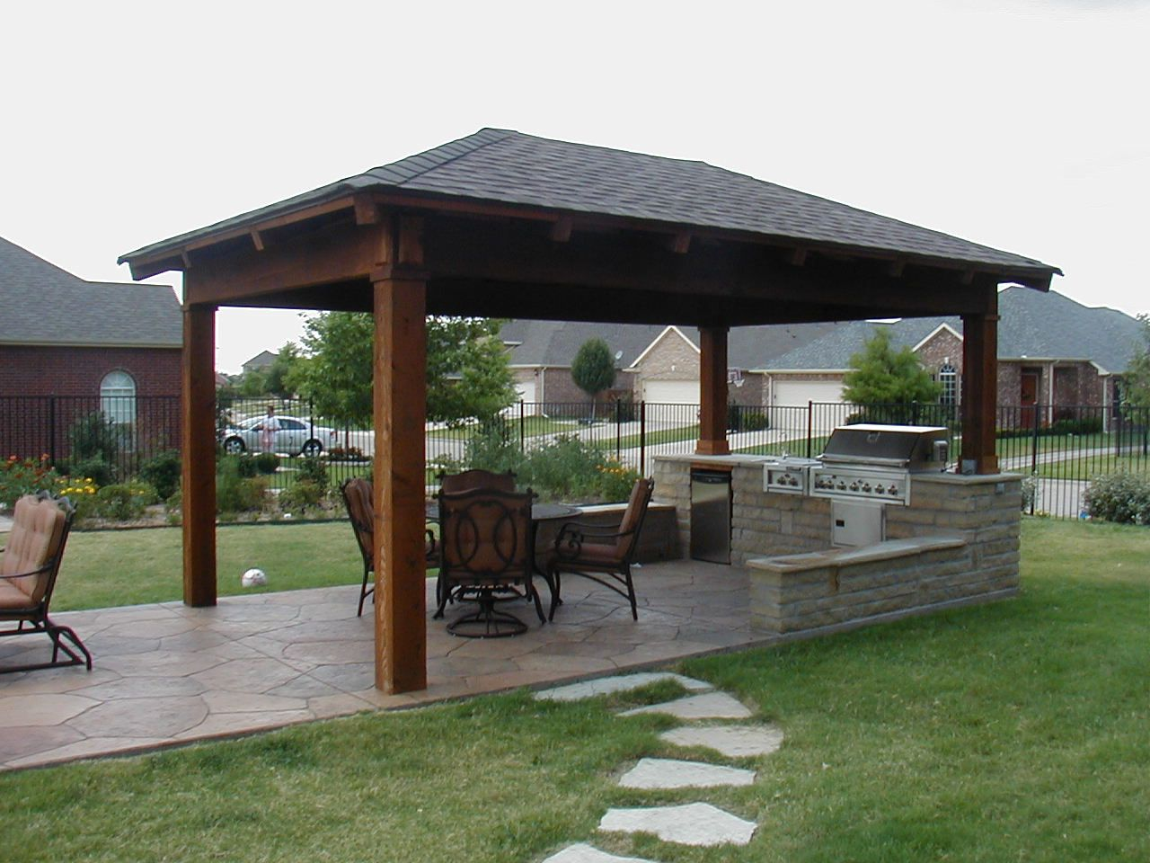 Image of: Aluminum Patio Cover Ideas
