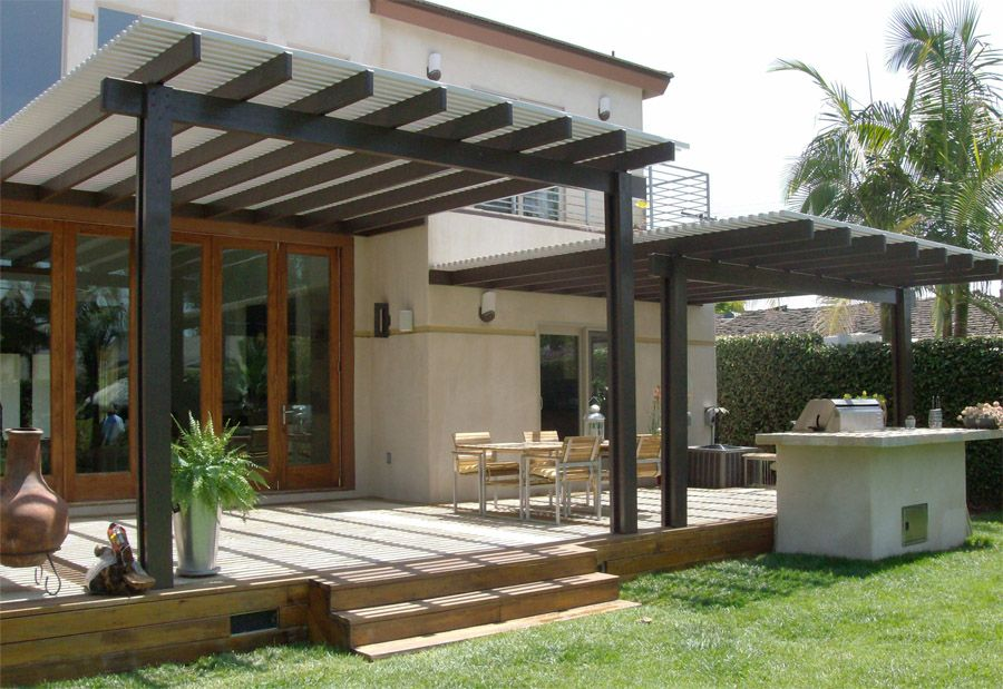 Image of: Apartment Patio Cover Ideas