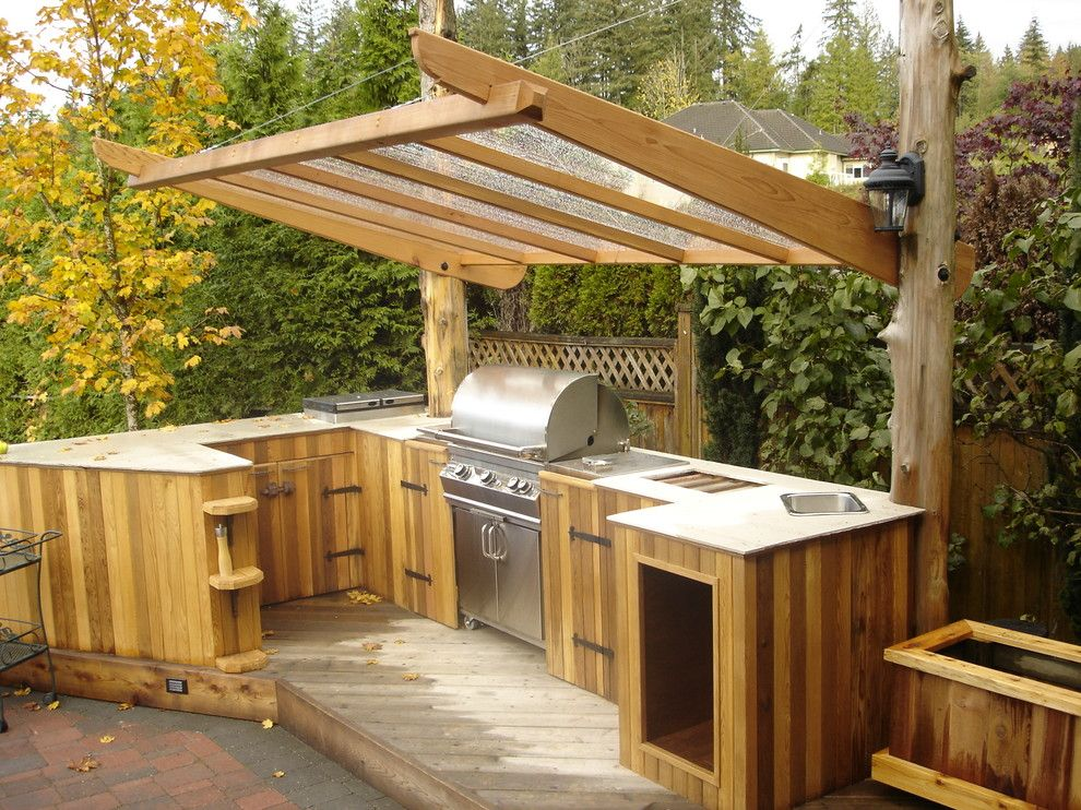 Image of: Bbq Patio Ideas Cheap