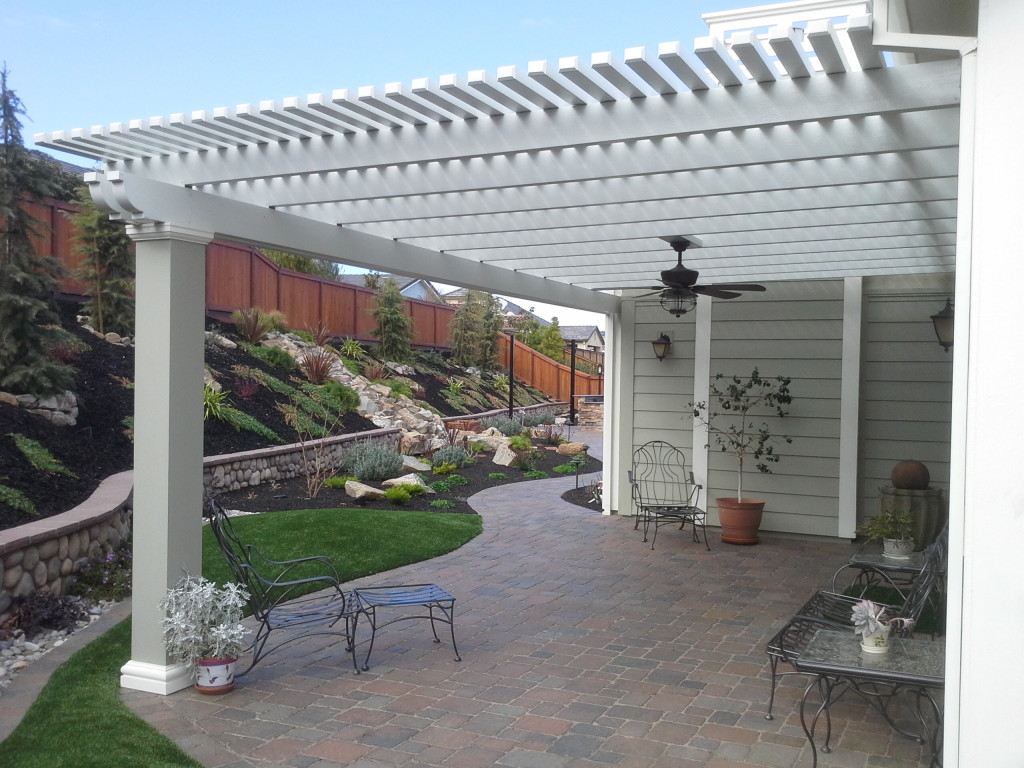Image of: Best Latice Patio Cover