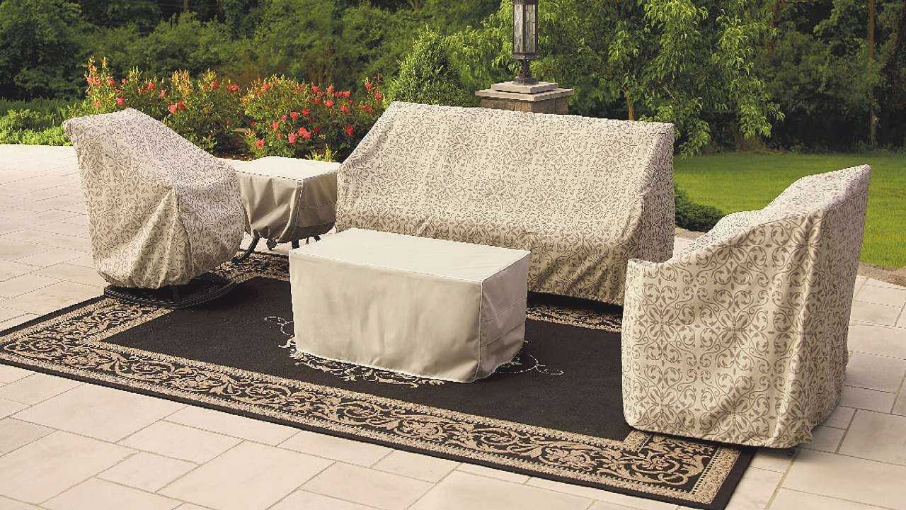 Image of: Best Patio Furniture Cover Diy