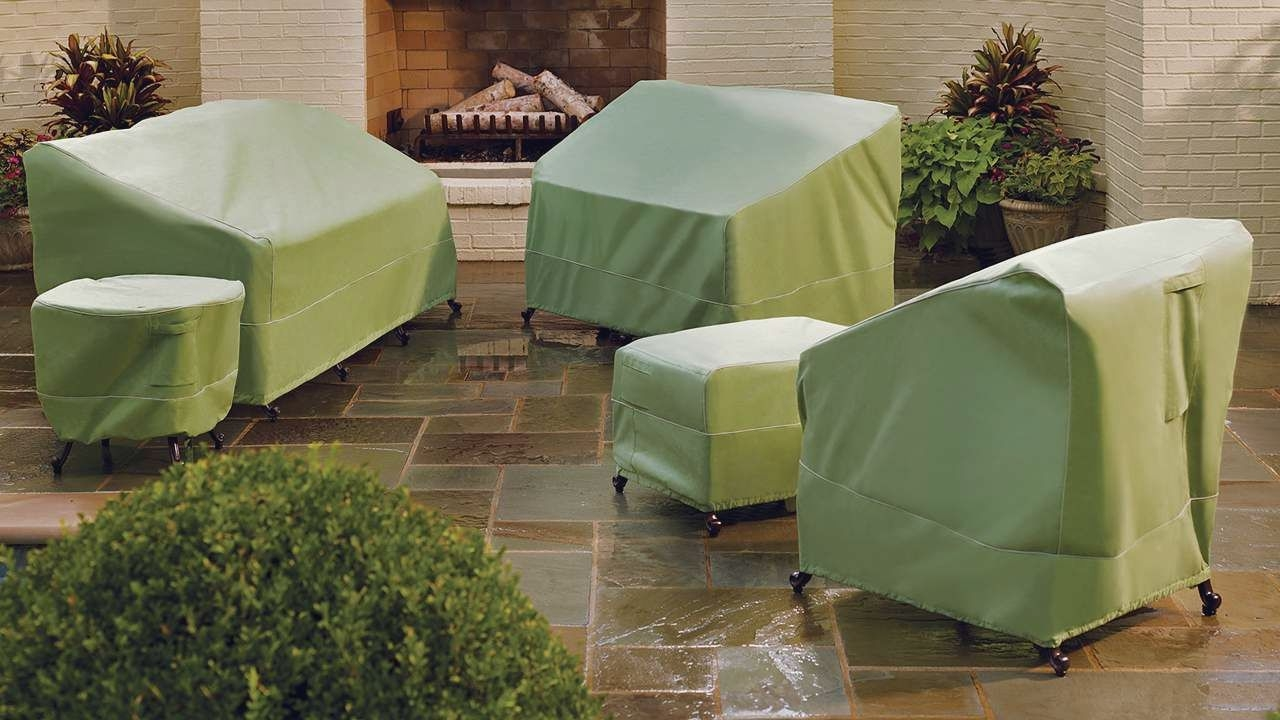 Image of: Best Patio Furniture Cover Home Depot