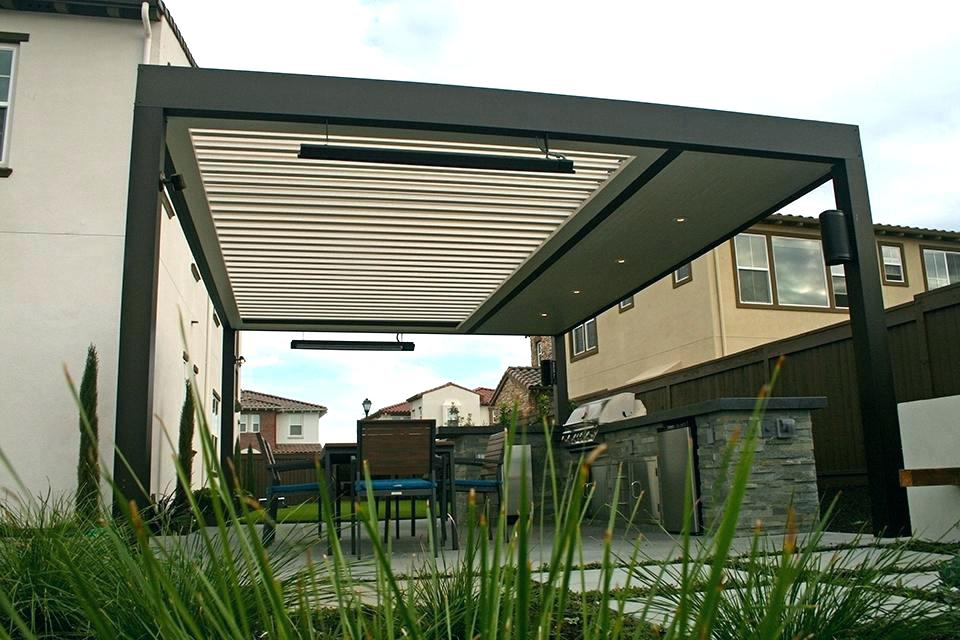 Build Louvered Patio Cover