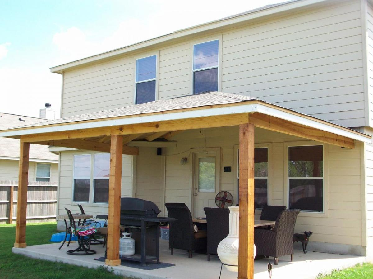 Image of: Build a Patio Cover Design