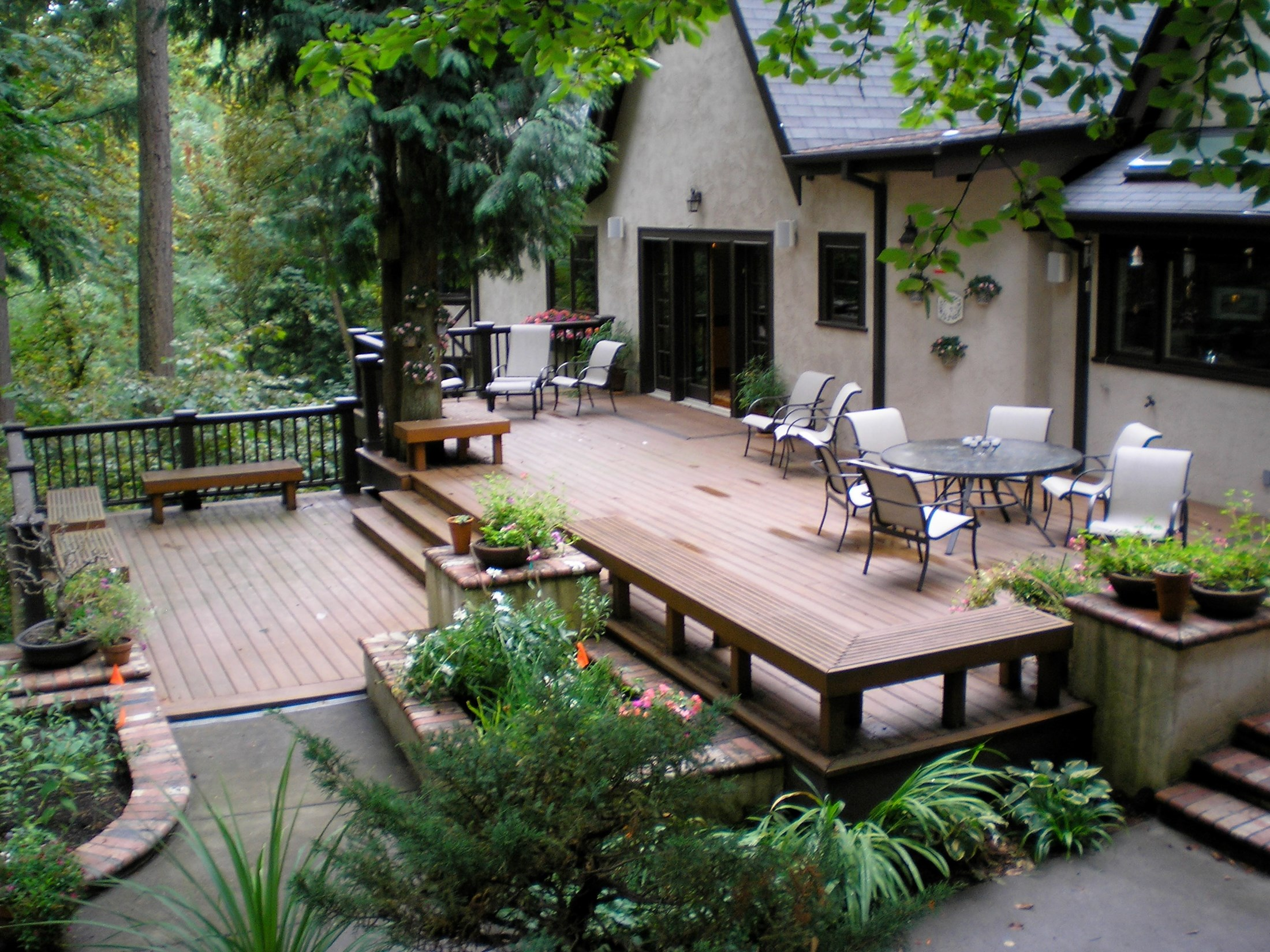 Image of: Cheap Deck Patio Ideas