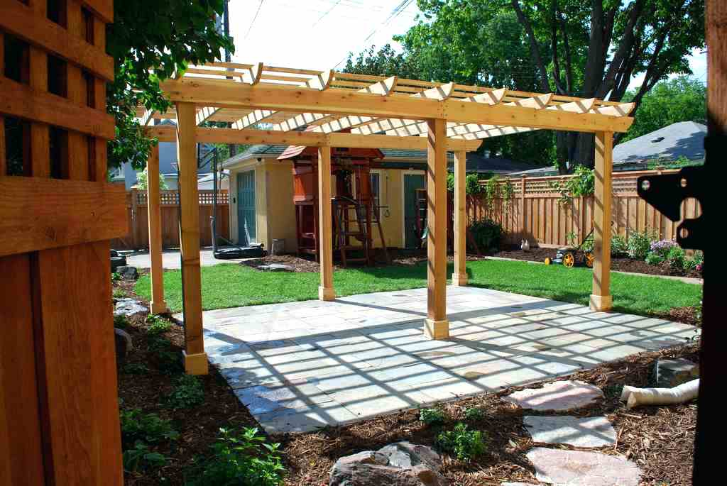 Image of: Code Free Patio Cover Blueprints