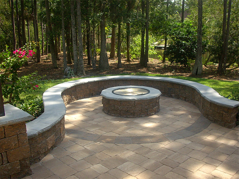Concept Patio and Firepit Ideas