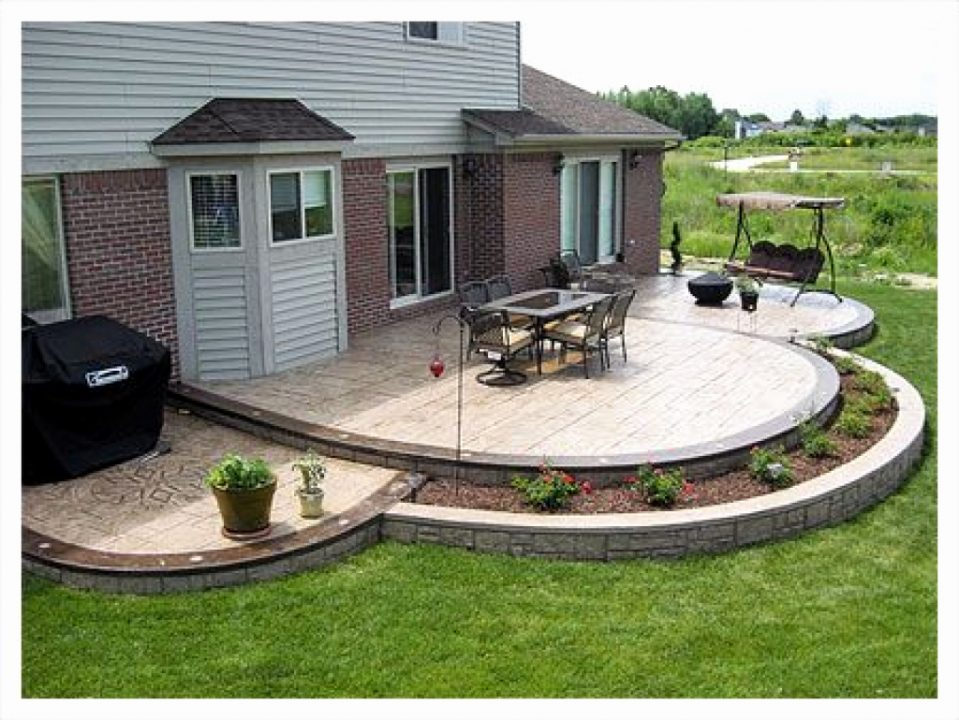 Concrete Patio Design Ideas Models