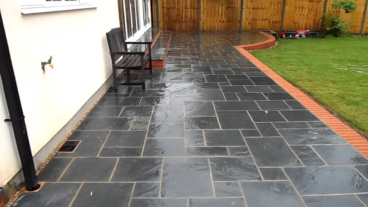 Image of: Concrete Patio Slab Ideas