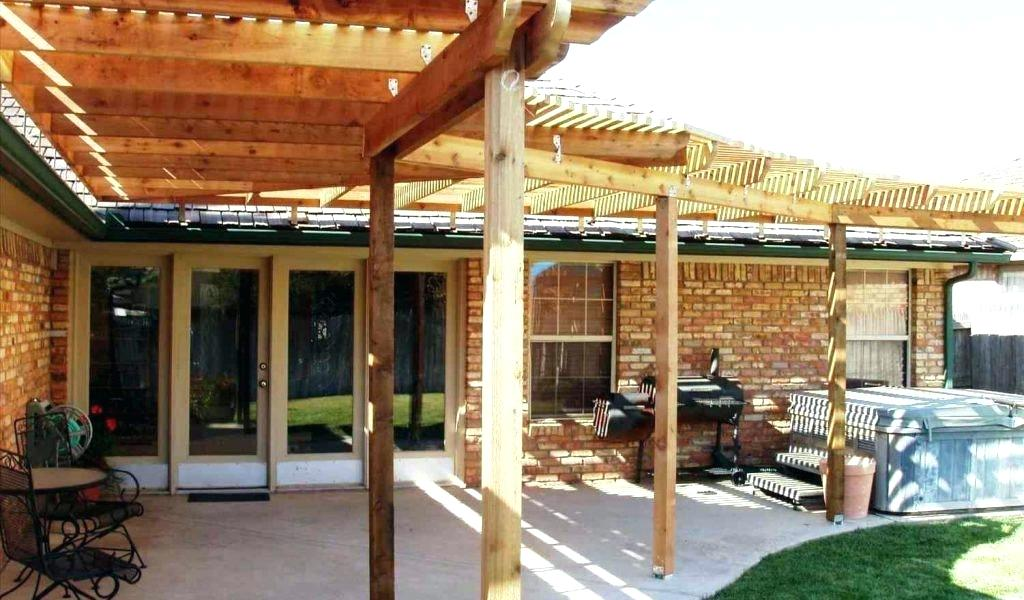 Diy Free Patio Cover Blueprints