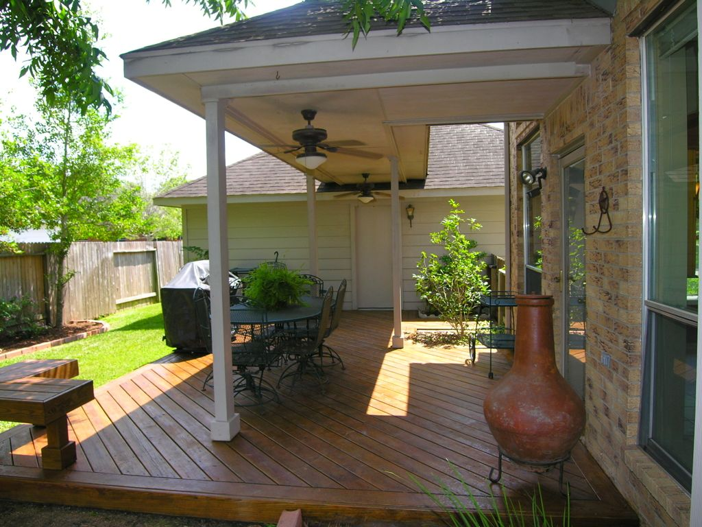 Image of: Exterior Covered Patio Lighting Ideas