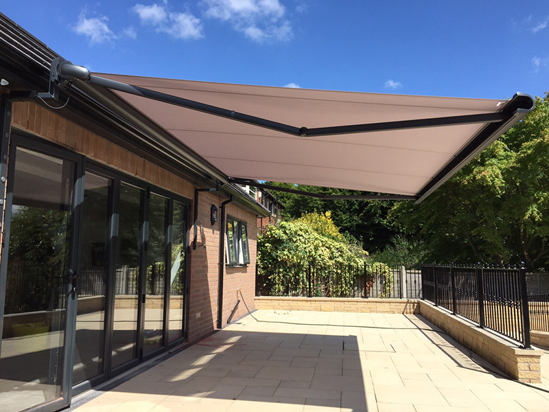 Fabric Patio Awning Cover